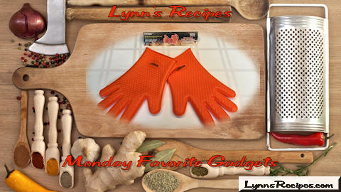 Monday Favorite Gadget - Innoo Tech Heat Resistant Silicone Barbecue Gloves