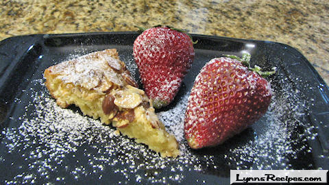 Almond Crusted Torte