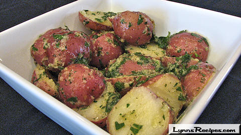 Herb Buttered Potatoes