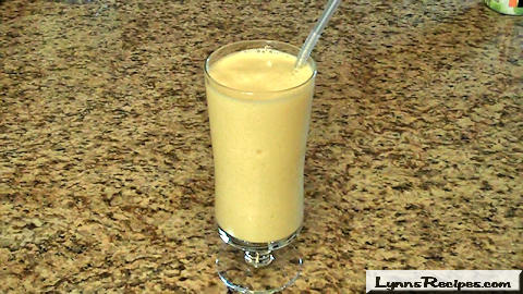 Orange Push Up Smoothie