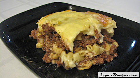 Pastitsio - Greek Meat and Pasta Casserole