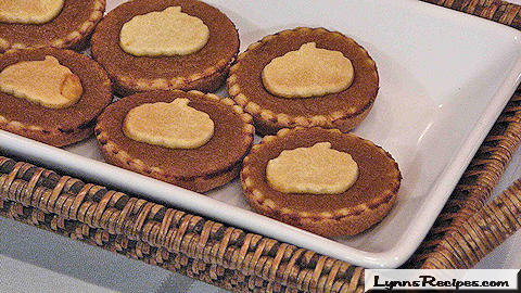 Pumpkin Tartlets