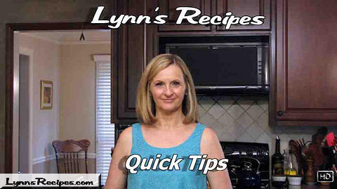 Quick Tip - Green Onions