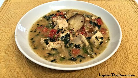 Crock-Pot Cuisine - Sage Garlic Chicken and White Bean