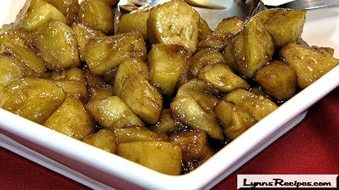 Southern Skillet Fried Apples